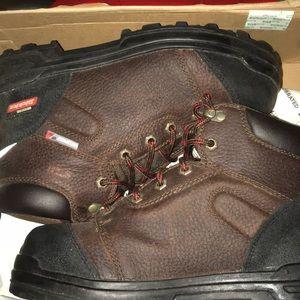 ee7efbaf97d Dickies Mens Leather Steel toe boots TRUXX Work